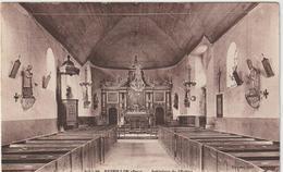 Orne : Prés  Mortagne :  REVEILLON : Int. De L  '  église - France
