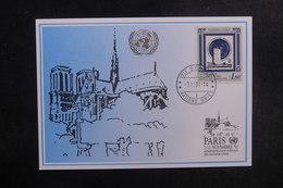 NATIONS UNIES - Carte En 1991 De Genève - L 39699 - Genf - Büro Der Vereinten Nationen