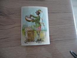 Chromo Ancien Publicitaire Chocolat Klaus Banjo Noir Anti Esclavage - Other