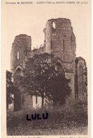 DEPT 49 : édit. Dézé Saint Cyr En Bourg Brézé ; Les Ruines De La Bouchardière - Other Municipalities