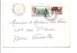 AFFRANCHISSEMENT COMPOSE SUR LETTRE DE HAUTE AMANCE HAUTE MARNE 1985 - Marcophilie (Lettres)