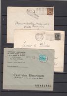 Lot De 3 Enveloppes  Avec Griffes - Postmark Collection