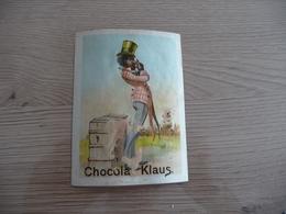 Chromo Ancien Publicitaire Chocolat Klaus Noir Anti Esclavage - Other
