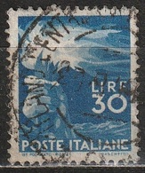 1945 Serie Democratica 30 Lire - Usato - 6. 1946-.. Republic
