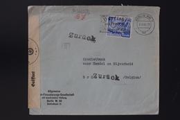 Deutsche Reich  Cover 9-5-1940  KRIEGS ANVANG ZURUCK  BERLIN -> BRUSSEL - Covers & Documents