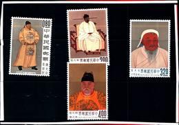 6761B) FORMOSA- 1962-QUADRI CELEBRI DELL'ANTICA CINA-N. 419/22-MNH** - 1945-... Repubblica Di Cina