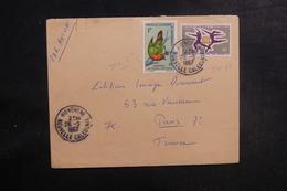 NOUVELLE CALÉDONIE - Enveloppe De Hienghene Pour Paris En 1967, Affranchissement Plaisant - L 39706 - Briefe U. Dokumente