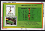 BOLIVIE  BF    * *  Cup 1990   Football  Soccer  Fussball Coupe Stade - Copa Mundial