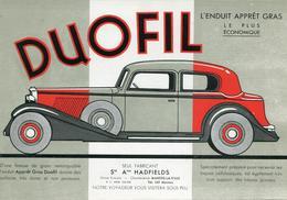 Buvard  DUOFIL  Enduit Appret... (hadfield Mantes La Ville) - Macchina