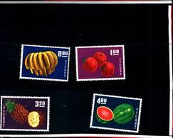 6763B) FORMOSA- 1964-FRUTTI DIVERSI-SERIE COMPLETA-N. 478/81-MNH** - 1945-... República De China