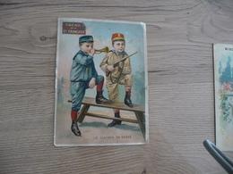 Chromo Ancien Publicitaire Chocolat Klaus Enfants Tennis - Schokolade