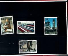 6764B) FORMOSA- 1964-INDUSTRIALIZZAZIONE-SERIE COMPLETA-N. 478/81-MNH** - 1945-... République De Chine