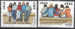 Italia 2006 Yvert 2871 - 2872 Neuf ** Cote (2015) 3.50 Euro Europa CEPT L'intégration - 1946-.. République