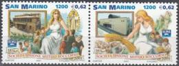 San Marino 2001 Michel 1976 - 1977 Neuf ** Cote (2006) 2.40 Euro 125 Ans SUMS - Neufs