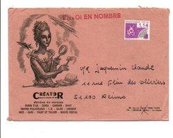 PREO SUR LETTRE A EN TETE DESSINE PAR DECARIS DE PARIS - Marcophilie (Lettres)