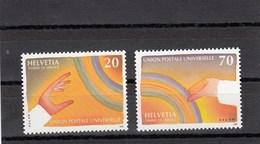 Suissi - 1999 - Neuf** - N° YT 474/75 - UPU - Dienstpost