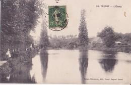 CPA - 59. YVETOT L'étang - Yvetot