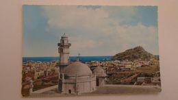 D166615 Yemen Aden Old Picture Postcard Idrus Mosque & Sira Island - Yémen