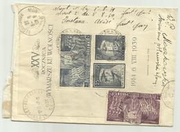 RARE POLOGNE 1939- YT  BF 8 Sur Lettre Recommandée De HENRYKOW Pour MONACO - - 1939-44: World War Two