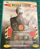 Doctor Dr Who ~ Battles In Time ~ No. 503 ~ Master Statue ~ Invader ~ 2007 - Cinema & TV