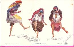 ---  LAVEUSES  ( BOU - SAADA )  -- ILLUSTRATEUR ROGER IRRIERA -- - Scènes & Types