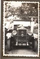 1934 Photo C.6x8.5cm Automobile Mathis - Lourdes