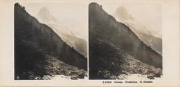 Zwitserland/Schweisz/Suisse, Stereoscoopfoto. Matterhorn, U. Findelen, Ca. 1925 - Stereoscoop