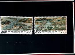 6768B) FORMOSA-1968-ARAZZI-CITTà DELLA CINA-2V. -MNH** - 1945-... Repubblica Di Cina
