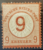 DEUTSCHES REICH - MLH - Mi 30 - 9 Kreuzer - Deutschland