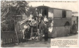 13 Globe Trotter Fin De Siècle - Sa Petite Famille Et Son Chateau Roulant - Non Classés