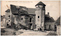 21 MONT-SAINT-JEAN - Vieille Maison Du Moyen-age - Autres Communes