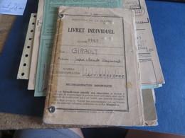 DIVERS DOCUMENTS MILITAIRE ,MILITARIA Et Divers,le Dernier Livret ,tres Moche De Qualité,vendue Tel-quel (lot 292 )) - Historische Documenten