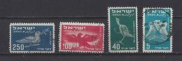 Israël: PA 1-3-5-6 Oblit - Poste Aérienne