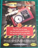Doctor Dr Who ~ Battles In Time ~ No. 501 ~ Timey-Wimey Detector ~ Invader ~ 2007 - Cinema & TV