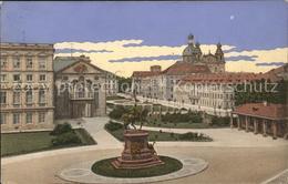 41582630 Mannheim Schlossplatz Mit Kaiser-Wilhelm-Denkmal Mannheim - Mannheim