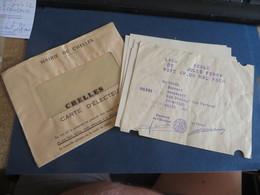 Tout Trouvez Dans La Meme Enveloppe,DE GAULLE-MITTERAND , Insolite Quand Meme ,2 Bulletin Ensemble  (lot 293 )) - Historical Documents