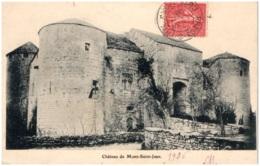 21 Chateau De MONT-SAINT-JEAN - - Autres Communes