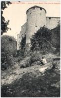 21 MONT-SAINT-JEAN - Ancien Chateau Féodal - Vue Prise Des Remparts - Autres Communes