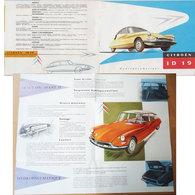 Publicité 1957 Citroen ID19 - Voitures