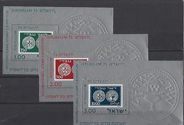 Israël: Blocs 11/13 ** (Monnaies Anciennes) - Monnaies