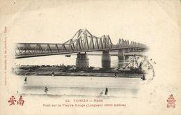 CPA VIETNAM Tonkin - HANOI - Pont Sur Le Feuvre (85590) - Viêt-Nam