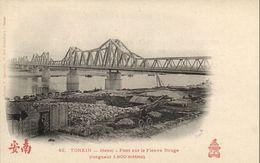 CPA VIETNAM Tonkin - HANOI - Pont Sur Le Fleuve (85901) - Viêt-Nam