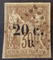 RÉUNION - Canceled - YT 10 - 20c S. 30c - Oblitérés
