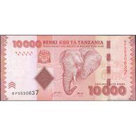 TWN - TANZANIA 44a - 10000 10.000 Shilingi 2010 Prefix BP UNC - Tanzania