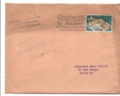 BELLE OBLITERATION DE COURBEVOIE 1958 - Storia Postale