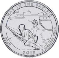 "US 25 Cents (a Quarter) 2019 D ""48th Park - Var In Pacific National Historical Park"" UNC - 2010-...: National Parks"