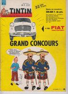 Tintin Et Fiat  1962 - Tintin