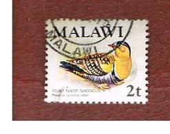 MALAWI - SG 474  -      1975 BIRDS: DOUBLE-BANDED SANDGROUSE  -  USED° - Malawi (1964-...)