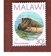 MALAWI - SG 773 - 1987 ANIMALS: HYPPOPOTAMUS   -  USED° - Malawi (1964-...)