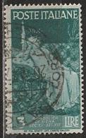 1946 Avvento Della Repubblica In Italia - 3 Lire - Usato - 6. 1946-.. Republic